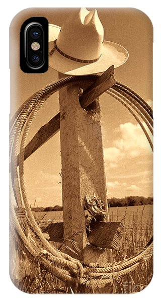 On The American Ranch IPhone Case