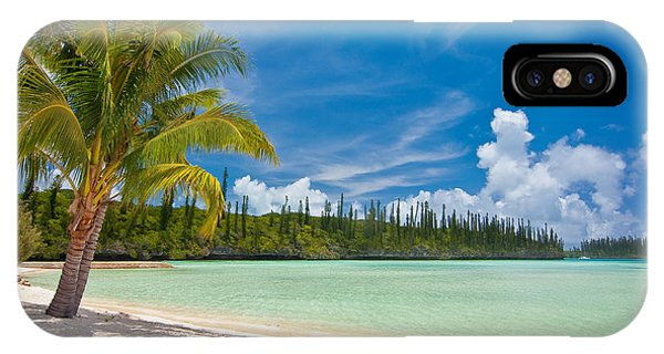 Beach Chair iPhone Case - On The Beach by Delphimages Photo Creations