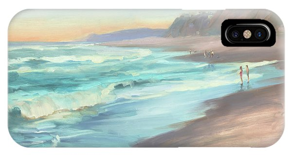 Tidal iPhone Case - On The Beach by Steve Henderson