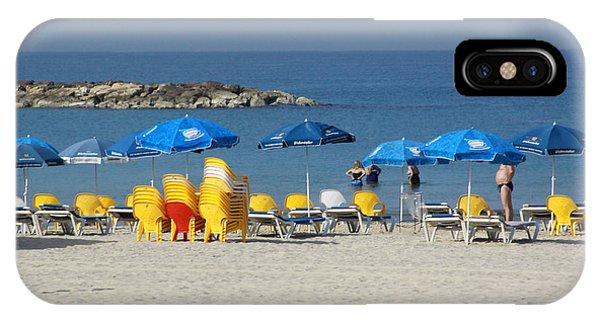 On The Beach-tel Aviv IPhone Case