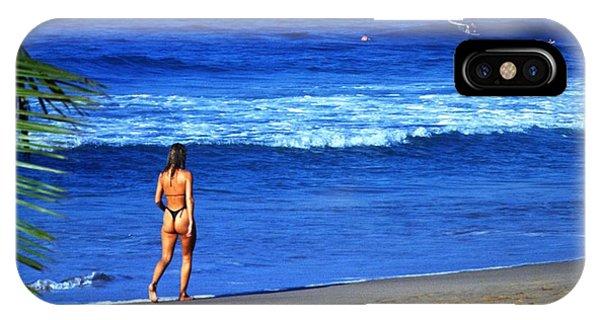 Michel Guntern iPhone Case - On The Beach by Travel Pics