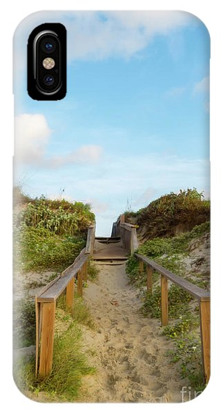 On The Boardwalk IPhone Case