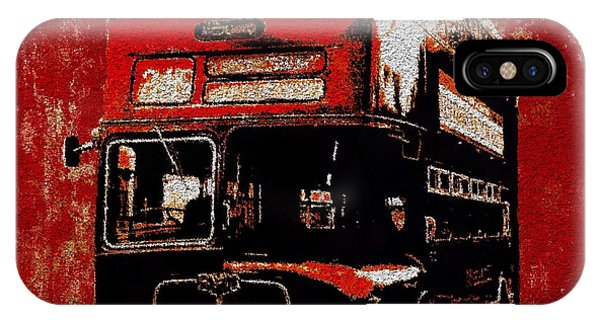 On The Bus IPhone Case