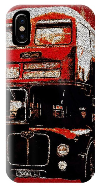 IPhone Case featuring the painting On The Bus by Mark Taylor
