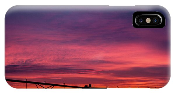 IPhone Case featuring the photograph On The Farm by Tyson Kinnison