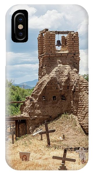 IPhone Case featuring the photograph On The Hill by Sandy Adams