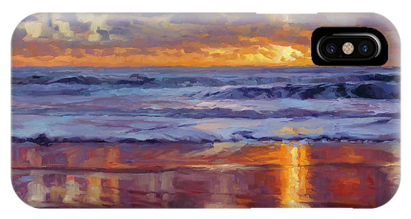 Sand iPhone Case - On The Horizon by Steve Henderson