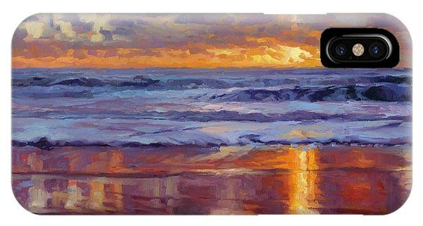 Coast iPhone Case - On The Horizon by Steve Henderson