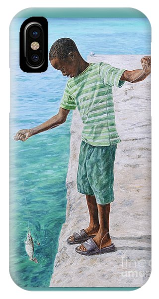 Eleuthera Art iPhone Case - On The Line by Roshanne Minnis-Eyma