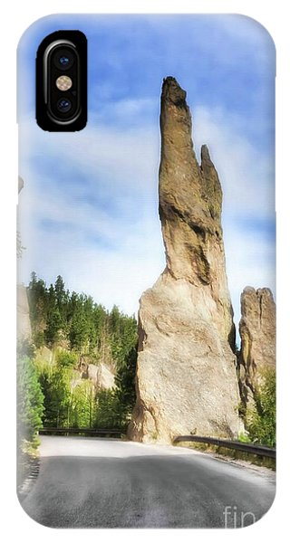 On The Needles Highway 1 IPhone Case
