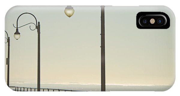 California iPhone Case - On The Pier by Linda Woods