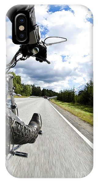 On The Road IPhone Case