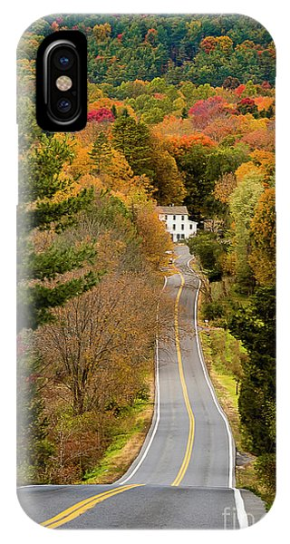 On The Road To New Paltz IPhone Case