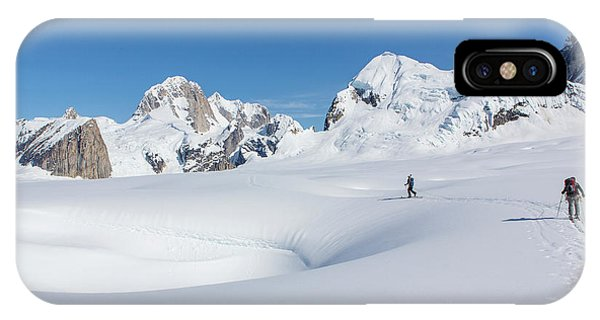 On The Ruth Glacier IPhone Case