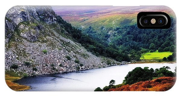 On The Shore Of Lough Tay. Wicklow. Ireland IPhone Case