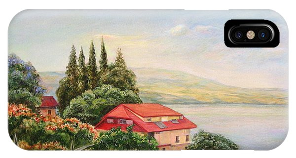 On The Shore Of The Kinneret IPhone Case