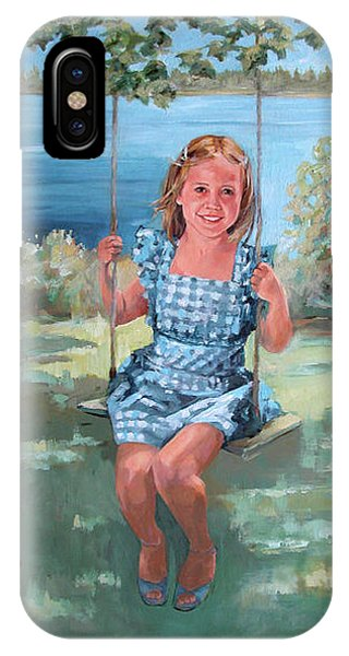 On The Swing IPhone Case