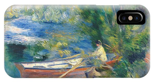 French Painter iPhone Case - On The Waterfront by Auguste Renoir