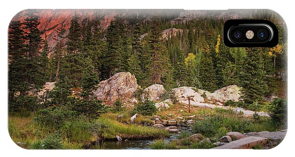 Rocky Mountain Np iPhone Case - On The Way To Dreams by Kunal Mehra