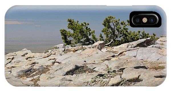 On Top Of Sandia Mountain IPhone Case