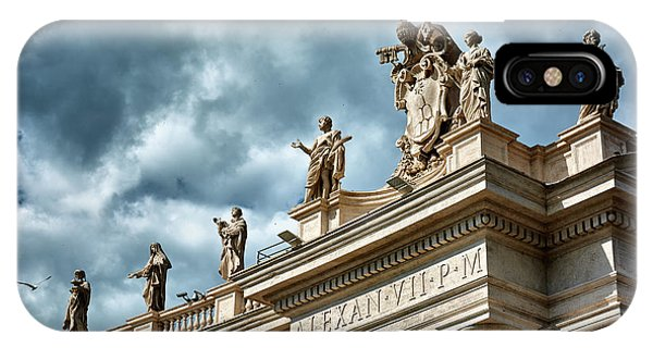 On Top Of The Tuscan Colonnades IPhone Case