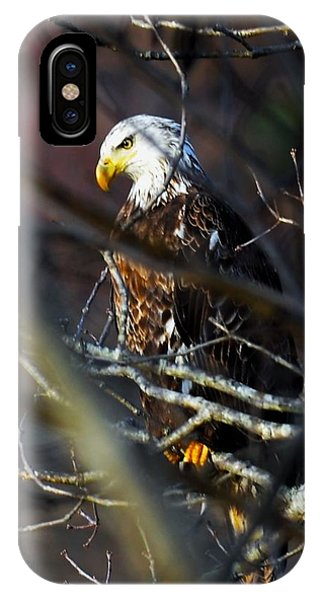On Watch IPhone Case