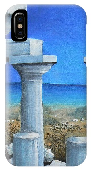 Once Upon A Time In Greece IPhone Case