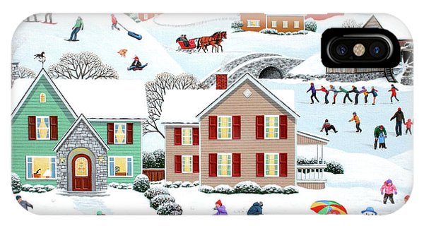 Once Upon A Winter IPhone Case