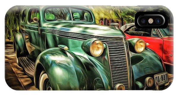 One Cool 1937 Studebaker Sedan IPhone Case