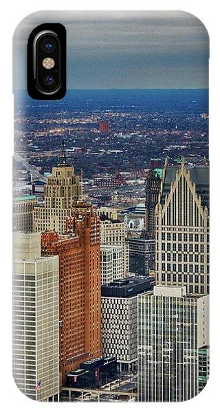 One Detroit Phone Case by Winnie Chrzanowski