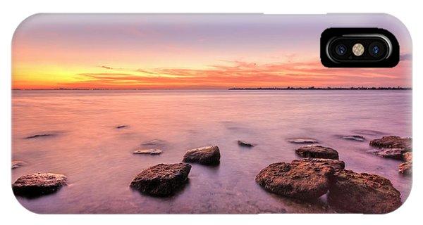 Sunrise iPhone Case - One Fine Morning by Evelina Kremsdorf