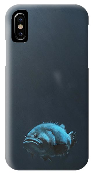 Fish iPhone Case - One Fish by Jeffrey Bess