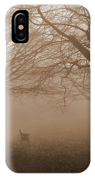 One Foggy Morning IPhone Case