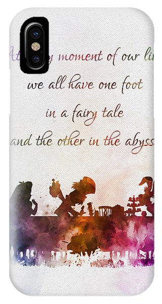 Fairy iPhone Case - One Foot In A Fairy Tale by My Inspiration