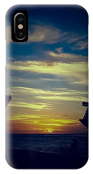 St. Maarten iPhone Case - One Last Glimpse by DigiArt Diaries by Vicky B Fuller