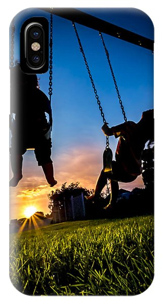One Last Swing IPhone Case