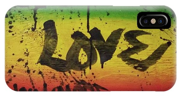 iPhone Case - One Love, Now More Than Ever By by Eyeon Energetic