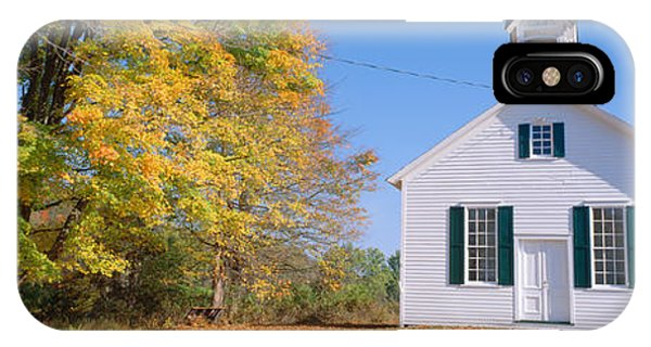 One-room Schoolhouse In Upstate New IPhone Case