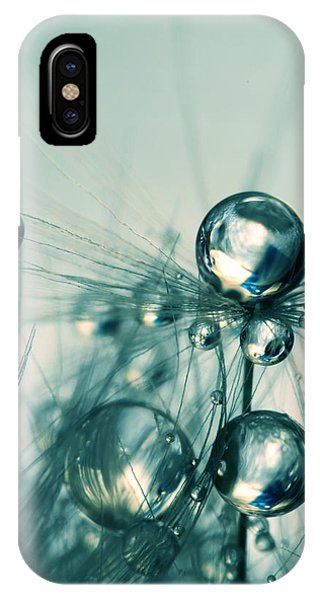 One Seed With Blue Drops IPhone Case