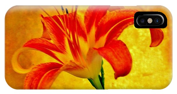 One Tigerlily IPhone Case