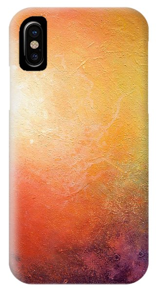 IPhone Case featuring the painting One Verse - Triptych 2 Of 3 by Jaison Cianelli