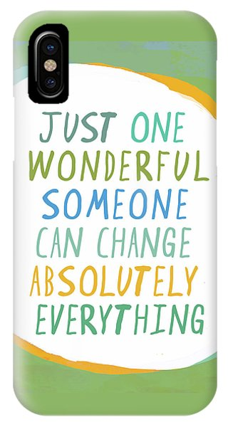 One Wonderful Someone IPhone Case