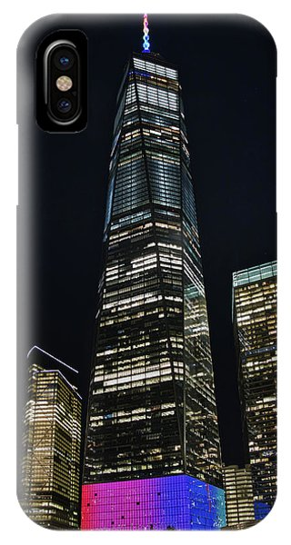 IPhone Case featuring the photograph One World Trade Center by Mark Dodd