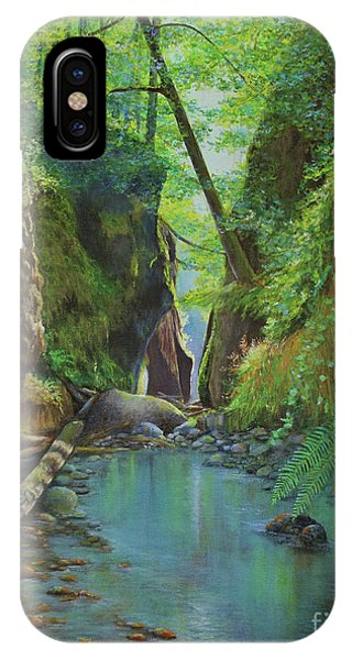 Oneonta Gorge IPhone Case