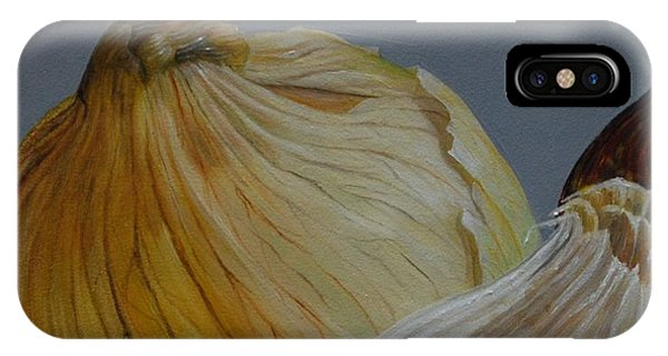 Onions And Garlic IPhone Case