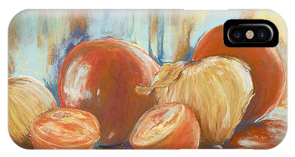 Onions And Tomatoes IPhone Case