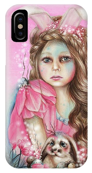Only Friend In The World - Bunny IPhone Case