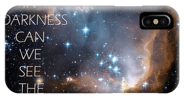 Only In Darkness IPhone Case