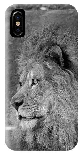 Onyo #20  Black And White IPhone Case
