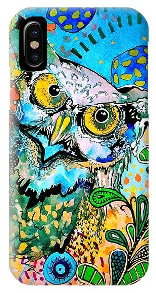 Oogke Owl IPhone Case